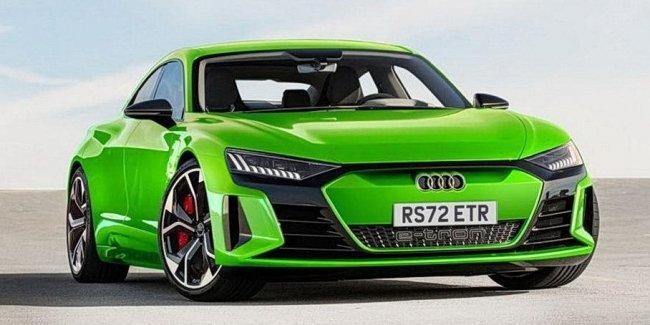У электрокаров Audi появятся «заряженные» RS-версии