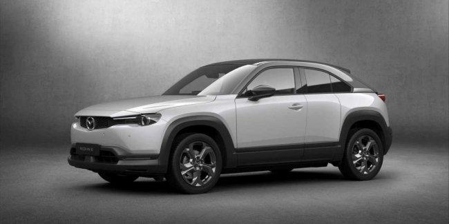 Mazda будет устанавливать на электрокары маленькие батареи