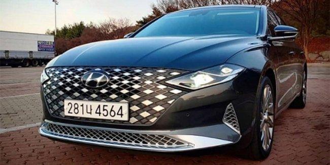 Hyundai начала продажи обновленного седана Grandeur