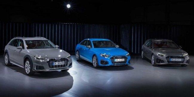 Audi опубликовала цены на A4 и S4 2020 модельного года