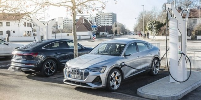 Audi инвестирует около 100 млн евро в собственные зарядные станции