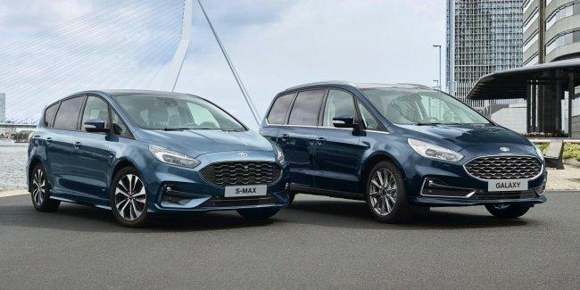 Ford превратит Galaxy и S-Max в гибриды