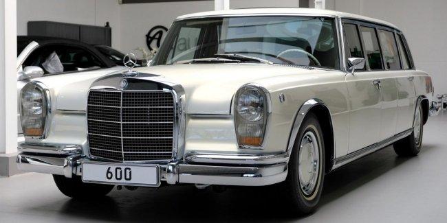 С комфортом на стиле: классичесский Pullman с салоном от Maybach 62. Всего за €2.000.000