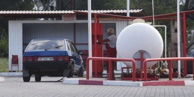 Средняя цена газа опустилась до 9 грн/л