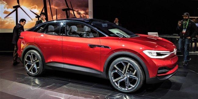 Ещё один кроссовер VW - уже электрический
