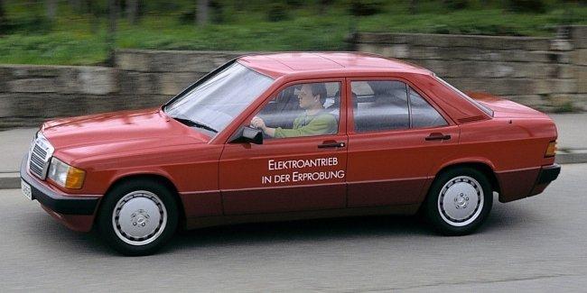 Mercedes 190 был электрокаром. А вы об этом знали?
