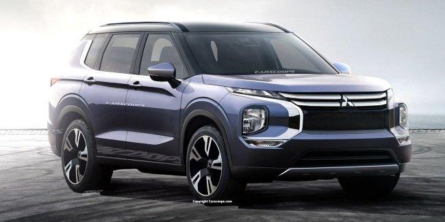 Mitsubishi Outlander все больше превращается в Nissan