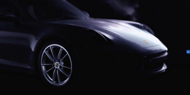 Porsche 911 Targa - необычный дебют (видео)