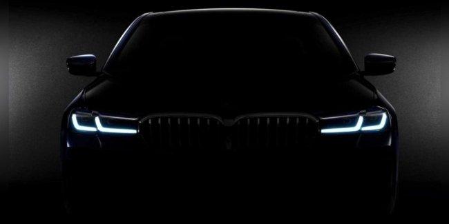 Первый тизер новой «Пятерки» BMW