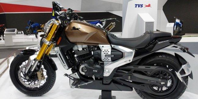 Концепт TVS Zeppelin пойдет в серию с мотором BMW