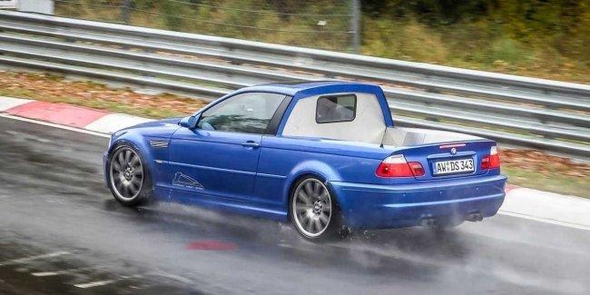 Для трека, для фермы: пикап на базе BMW M3