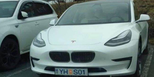 Tesla 3-Series замечена в Исландии