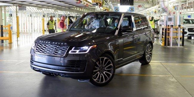JLR выпустили первый посткарантинный Range Rover