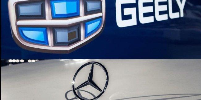 Geely мало Volvo. Пора браться за Mercedes