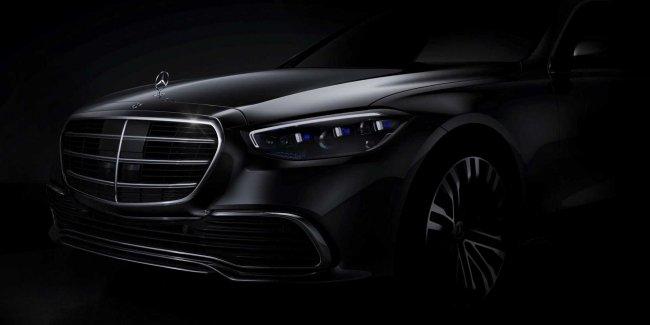 W223 на официальных фото Mercedes