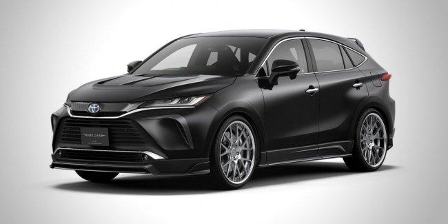 «Пуш-ап» пакет для новой Toyota Venza