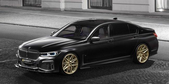 Как должна выглядеть BMW M760Li xDrive в понимании польских тюнеров