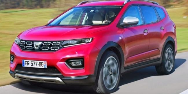 Dacia Lodgy превратят в семиместный кроссовер