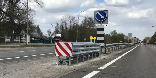 Почти Европа: гибкие отбойники на дорогах Украины