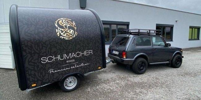 Шумахер купил себе новую «Ниву». Это не шутка!