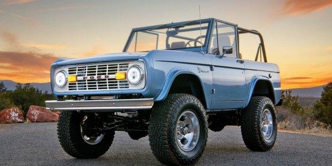 Классический Ford Bronco на электротяги разыграют в лотерею