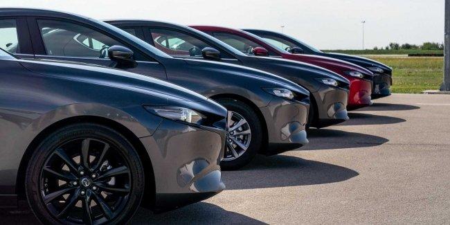 Mazda 3 научится делать «пыщь-пыщь»