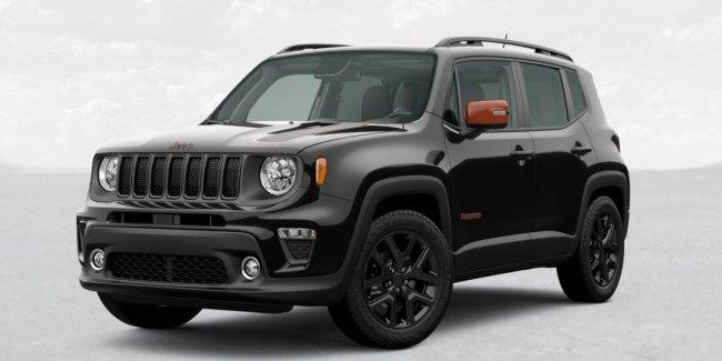 Выделяйся: Jeep Renegade Orange Edition