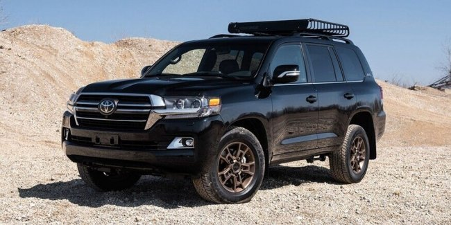 Toyota выпустила версию Land Cruiser Heritage Edition. Правда, уже давно.