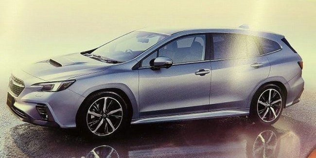 Новый Subaru Levorg. Чем порадует интерьер?