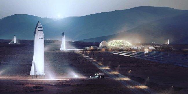 Tesla взялась за разработку космических кораблей