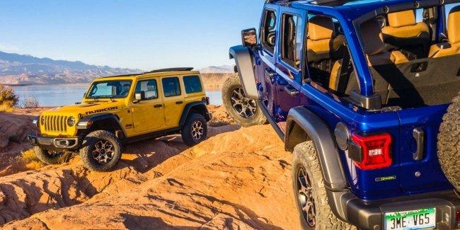 Jeep Wrangler получил две спецверсии и новые технологии