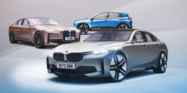 BMW выпустит девять новых электрокаров