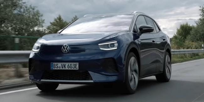 VW ID.4 и его внедорожные способности (видео)