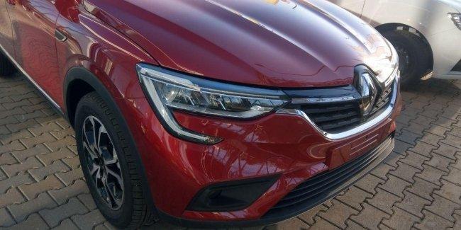 В Украине замечены первые Renault Arkana