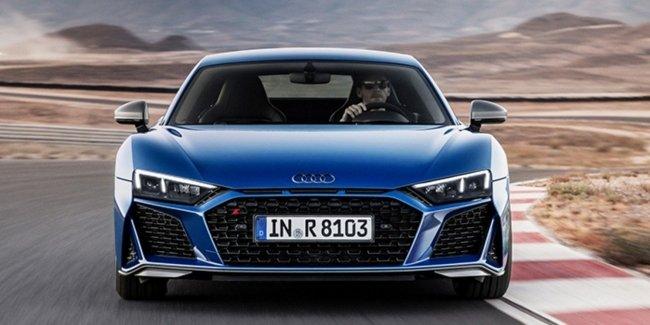 Audi R8 разорвало от удара с 13 автомобилями