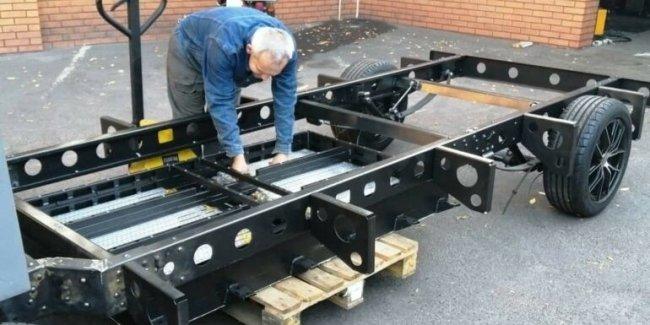 Инженеры из Кривого Рога создают электрогрузовик
