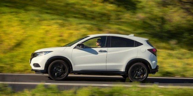 Первые фото новой Honda HR-V
