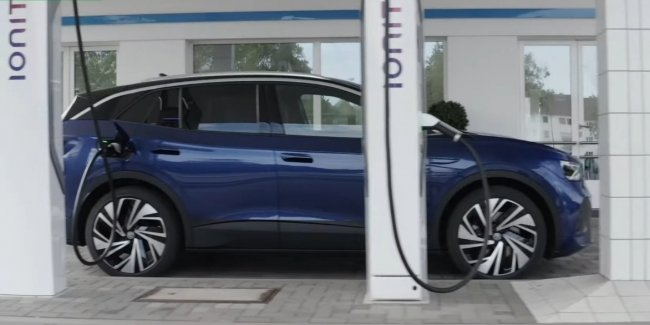 Volkswagen намекнул на быструю зарядку ID.4