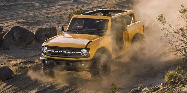 Все Bronco теперь доступны с 7-ступенчатой механикой