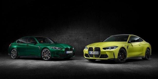 BMW M3 и M4 засветили перед официальным дебютом