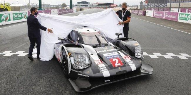 Porsche передал французскому автомобильному клубу ходовой макет 919 Hybrid