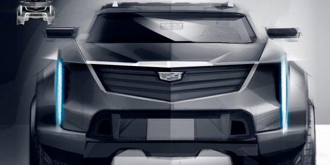 Caditank: дизайн таинственного внедорожника GM