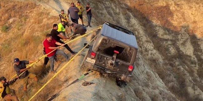 Как спасали тот самый Wrangler (видео)