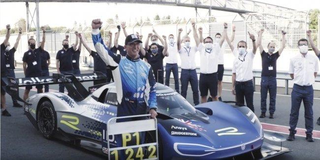 Электрический Volkswagen установил свой 5-й рекорд