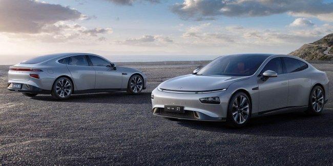 Электрический седан Xpeng P7 ставит рекорды продаж