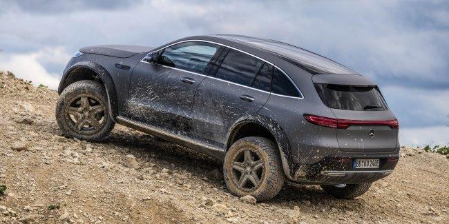 Mercedes EQC заменит «Гелик» на офф-роуде?