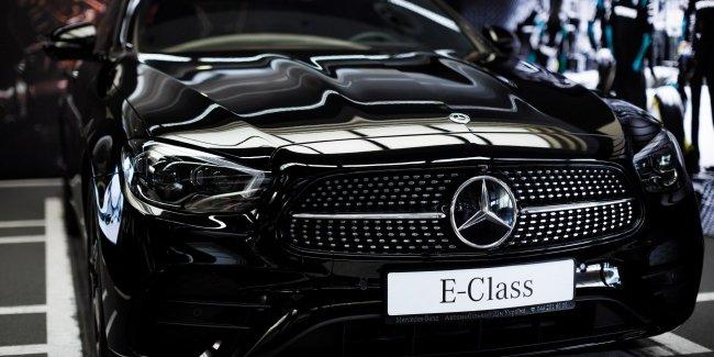 Обновленный E-Class: украинские модификации и цены