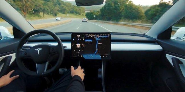 Отзыв о «полноценном» автопилоте Tesla