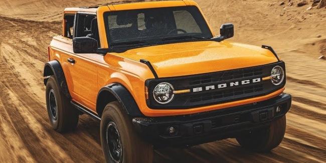 Новый Ford Bronco получит V8 на 760 сил