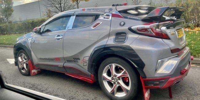 В городе новый герой: тюнинг Toyota C-HR